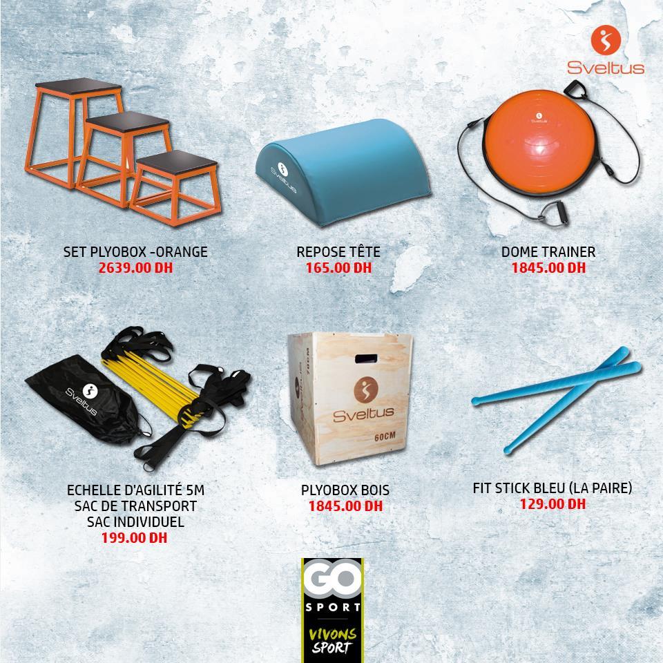 Flyer Go Sport Sélection de produits Sveltus