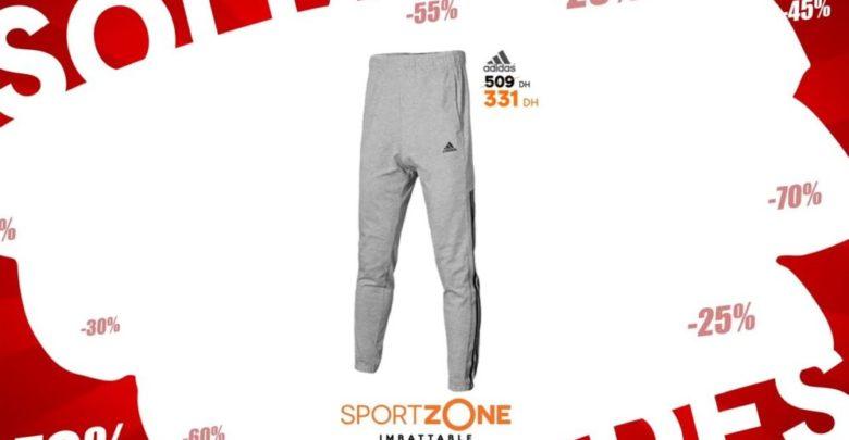 Photo of Soldes Sport Zone Maroc Jogging Adidas homme 331Dhs au lieu de 509Dhs