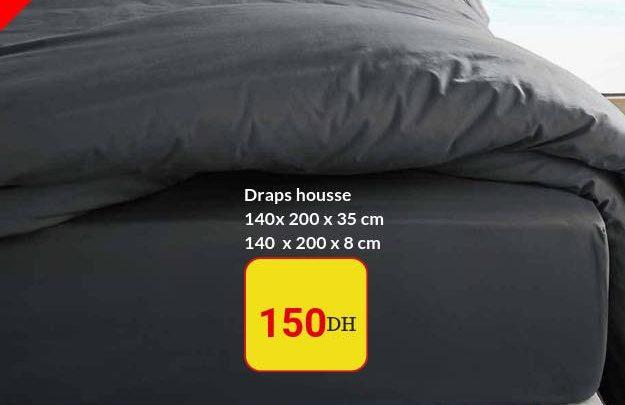 Promo Alpha55 Drapes housse - Taies d'oreiller