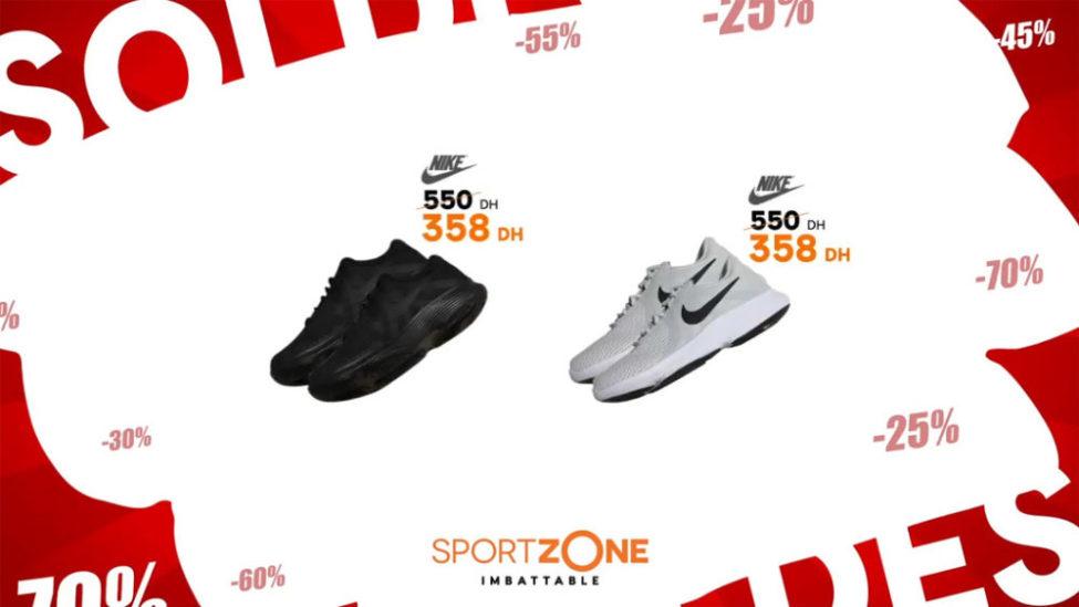 293876e13b2 Promo Sport Zone Maroc Chaussure Sport Nike 358Dhs au lieu de 550Dhs