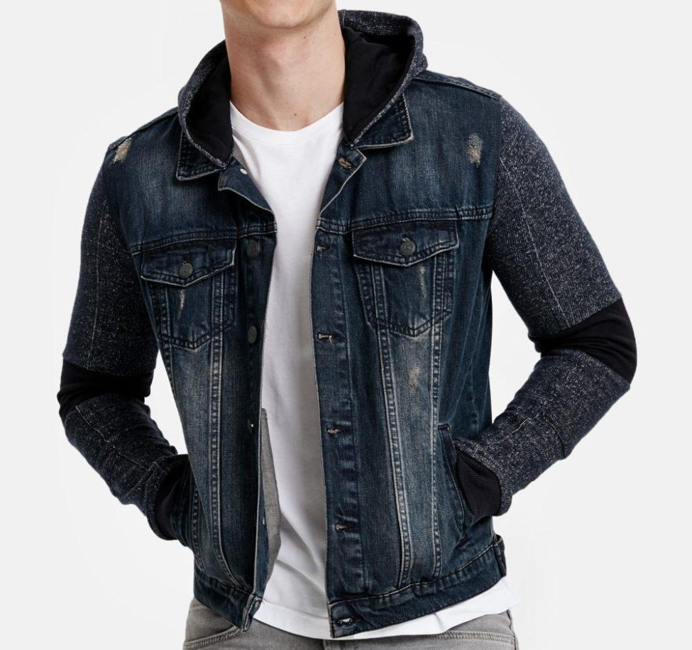 Soldes Lc Waikiki Maroc Jacket jeans homme 129Dhs au lieu de 289Dhs