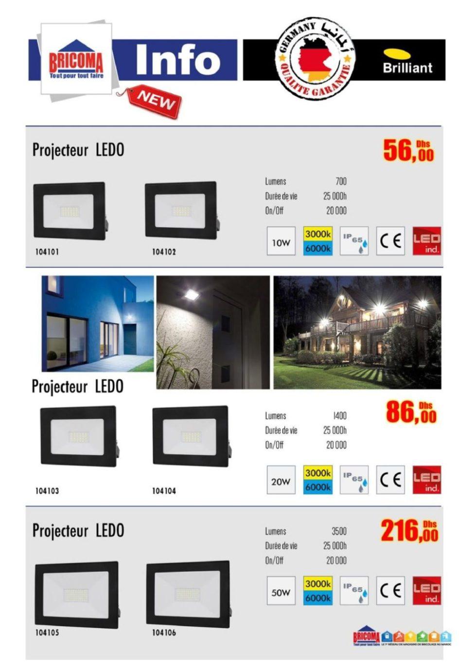 Catalogue Bricoma Spécial Éclairage et Luminaire Février 2019