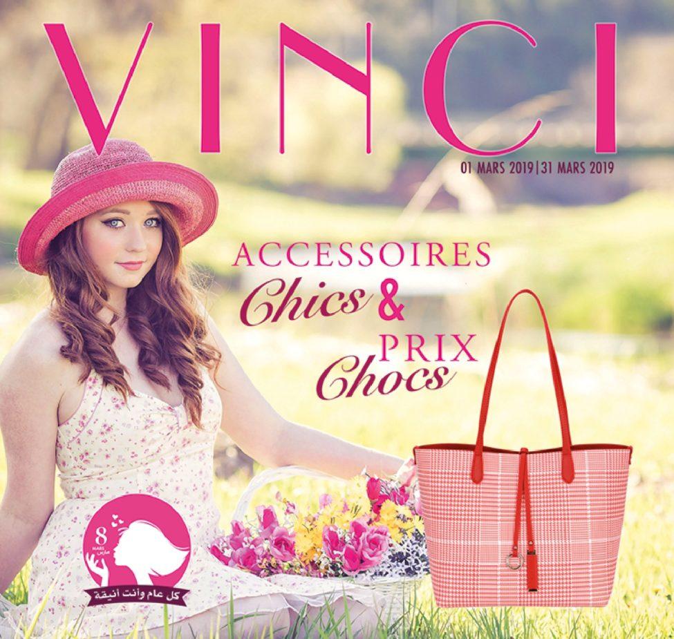 Catalogue Vinci Accessoires Maroc Mars 2019