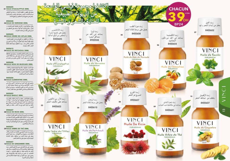 Catalogue Vinci Oils Maroc Mars 2019