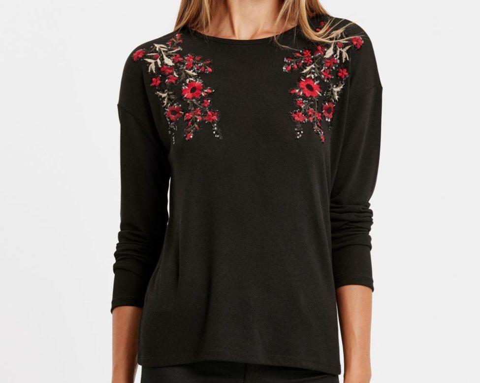 Soldes Lc Waikiki Maroc T-Shirt femme 79Dhs au lieu de 149Dhs