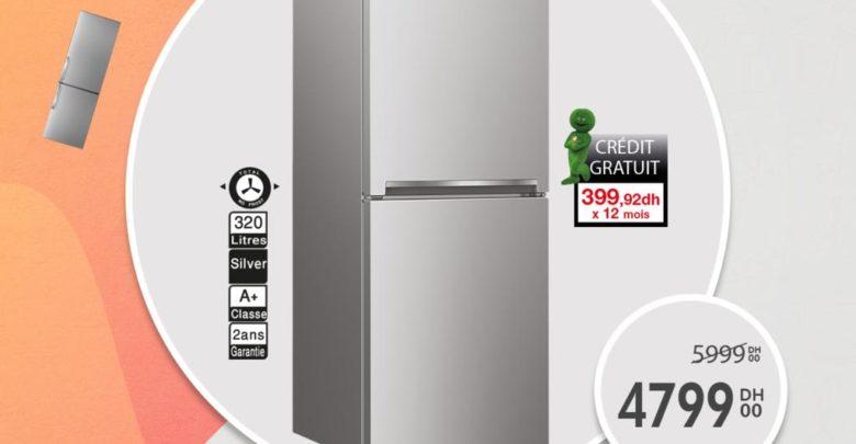 Soldes Aswak Assalam Réfrigérateur BEKO 320L 4799Dhs au lieu de 5999Dhs