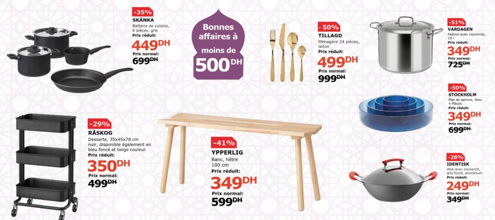 Flyer Ikea Maroc du 27 février au 9 Avril 2019