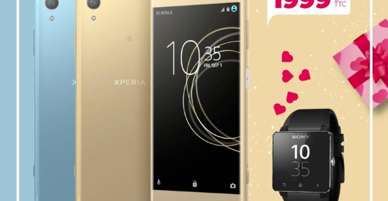 Photo of Promo Biougnach Electro Smartphone Sony Xperia XA1 Plus + Monte Connectée 1999Dhs