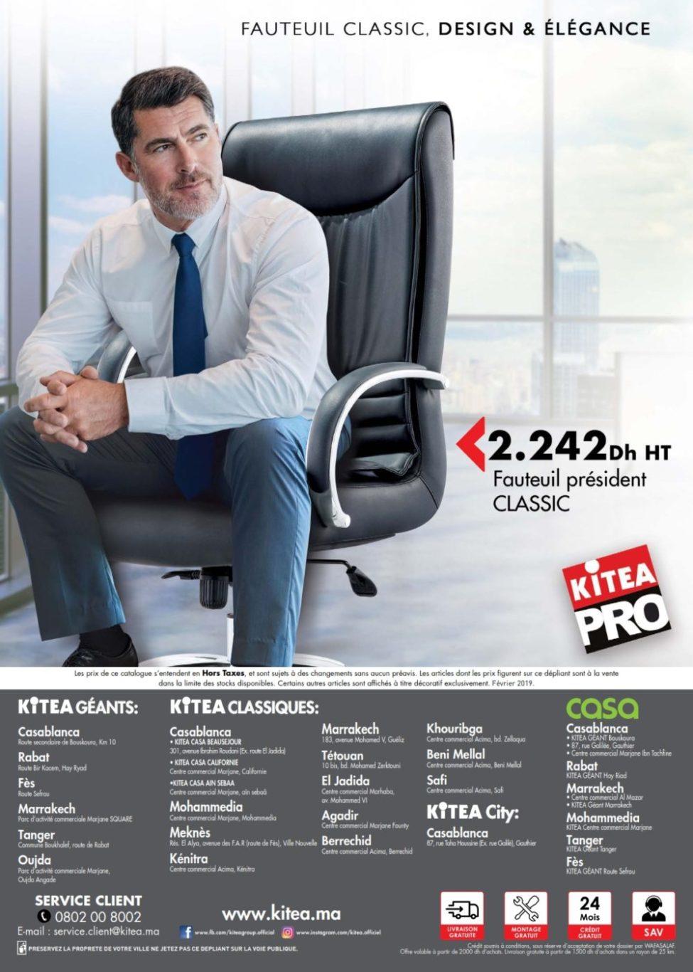 Catalogue Kitea Mobilier Professionnel 2019