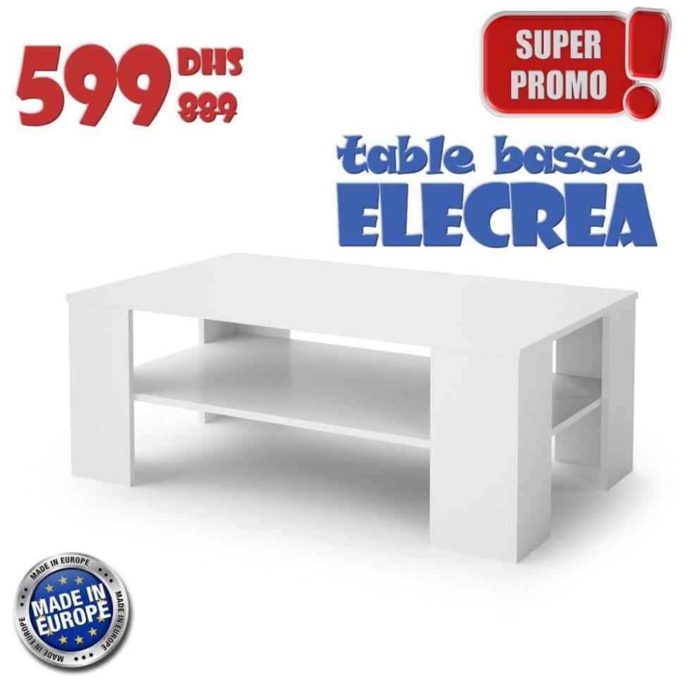 Soldes Azura Home TABLE BASSE ELECTRA 601Dhs au lieu de 889Dhs