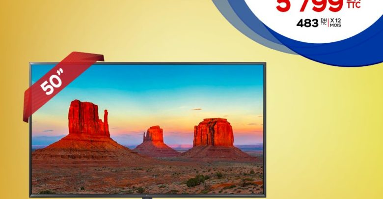 "Photo of Promo Electroplanet Smart TV 50"" LG 4K 5799Dhs au lieu de 6999Dhs"