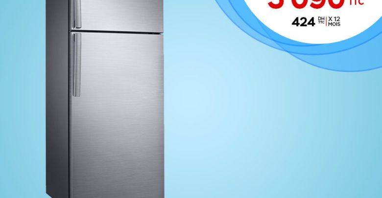 Promo Electroplanet Réfrigérateur SAMSUNG 390L 5090Dhs au lieu de 5499Dhs
