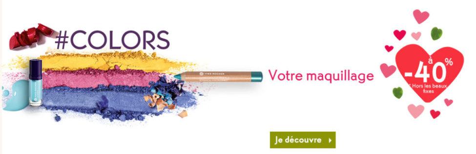 Promo Février Yves Rocher Maroc Votre maquillage à -40%
