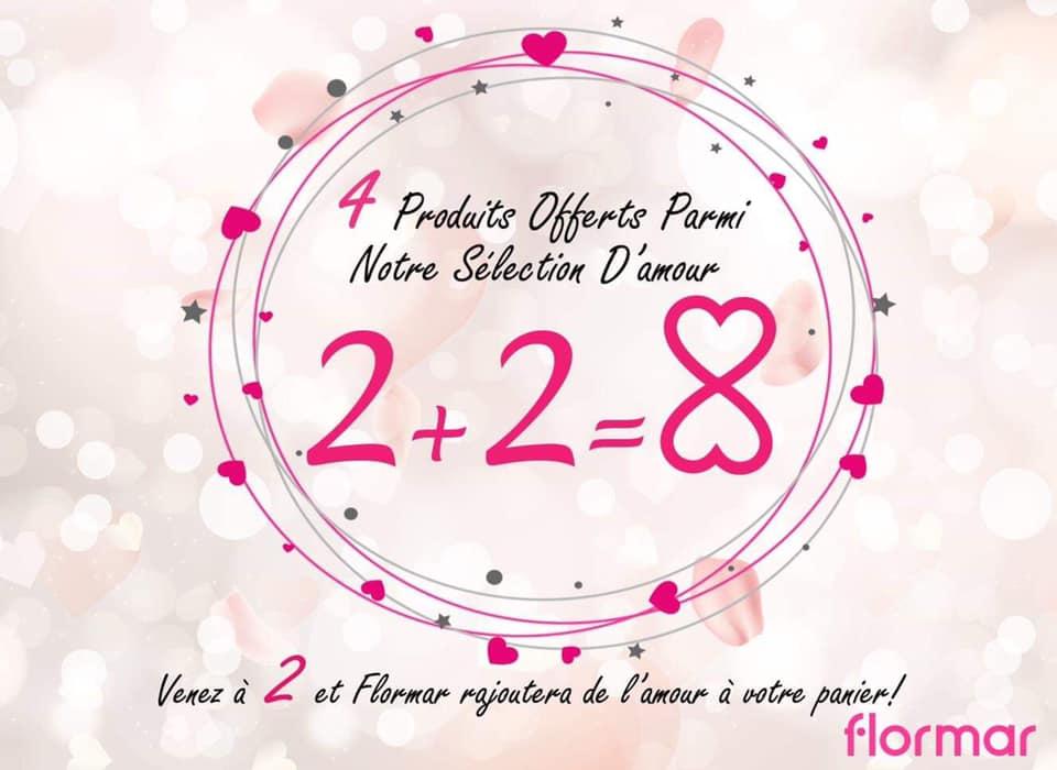 Super Offre Flormar Maroc 2+2=8