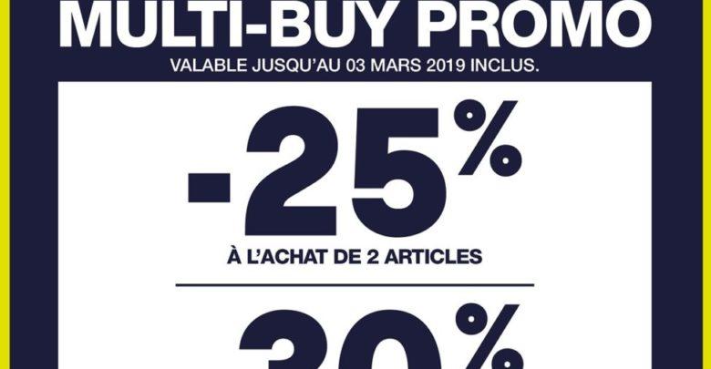 Multi-buy Promo chez GAP Maroc jusqu'au 3 Mars 2019