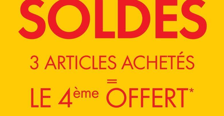 Promo Kiabi Maroc 3 articles achetés le 4ème gratuit