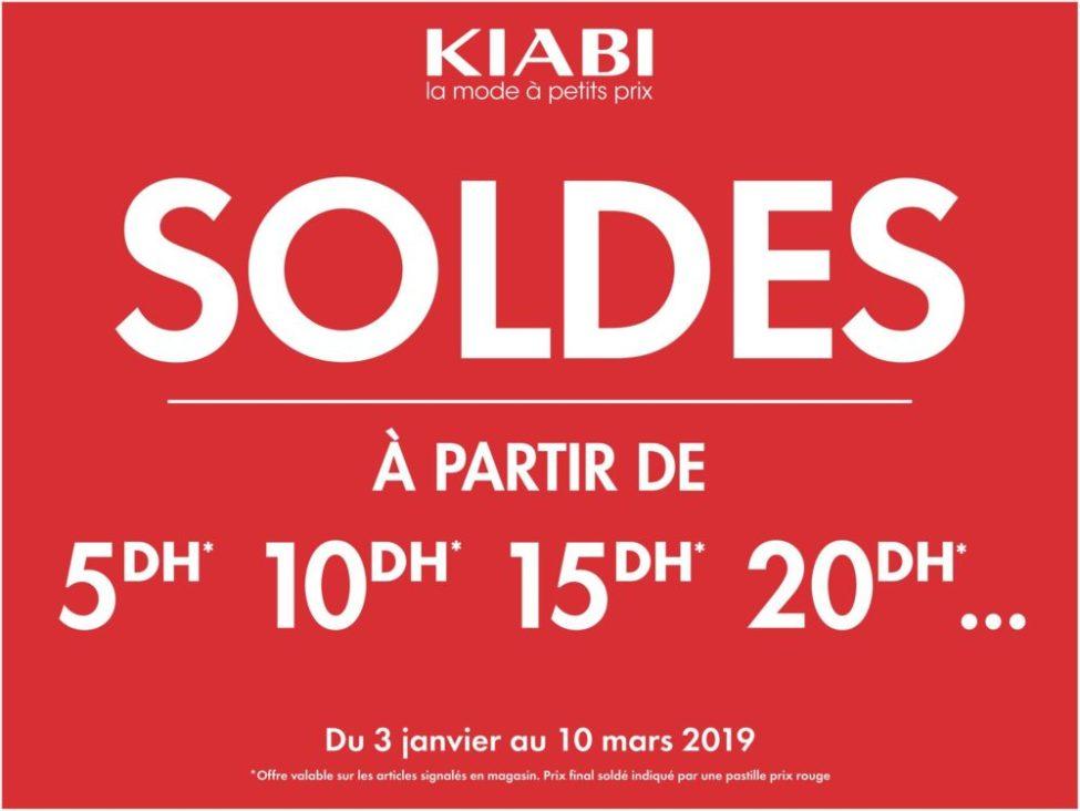 Soldes 2019 en continue chez Kiabi Maroc