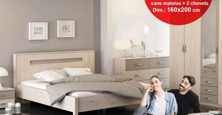 Photo of Promo Kitea Lit + Sommier GEORGIA 3490Dhs au lieu de 4490Dhs