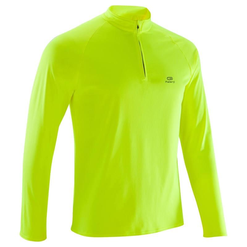 Soldes Decathlon Tee-Shirt Manches Longues Running Homme 49Dhs au lieu de 79Dhs