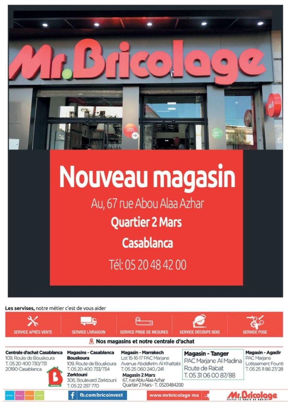 Catalogue Mr Bricolage Maroc du 23 Janvier au 28 Février 2019