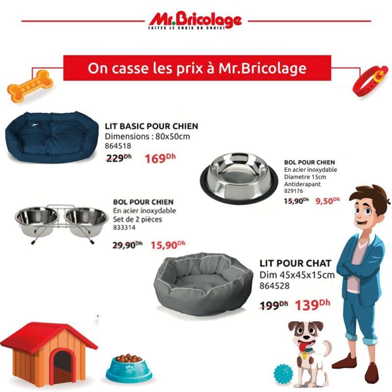 Soldes Mr Bricolage Maroc Solutions pour les animaux