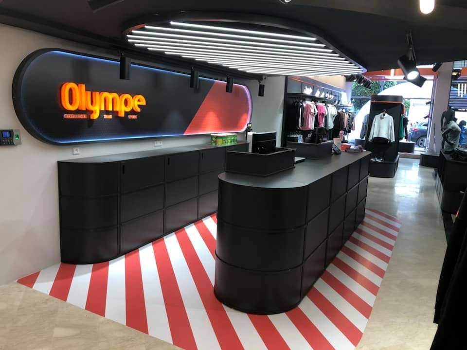 Nouveau Magasin Olympe Store Racine