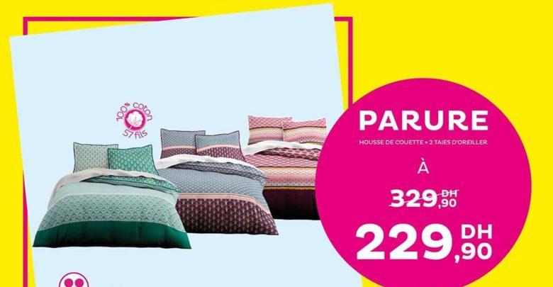 Photo of Deal de la semaine Tati Maroc Parure housse + 2 taies 229Dhs au lieu de 329Dhs
