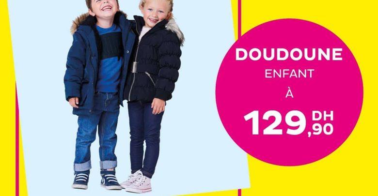Photo of Deal de la semaine chez Tati Maroc Doudoune Enfant 129Dhs