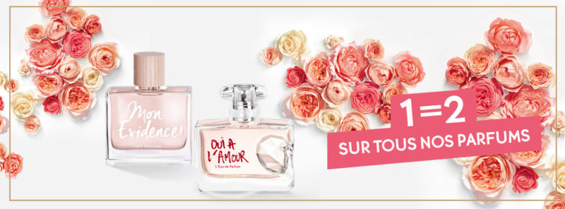 Promo 1=2 Yves Rocher Maroc sur tous les parfums