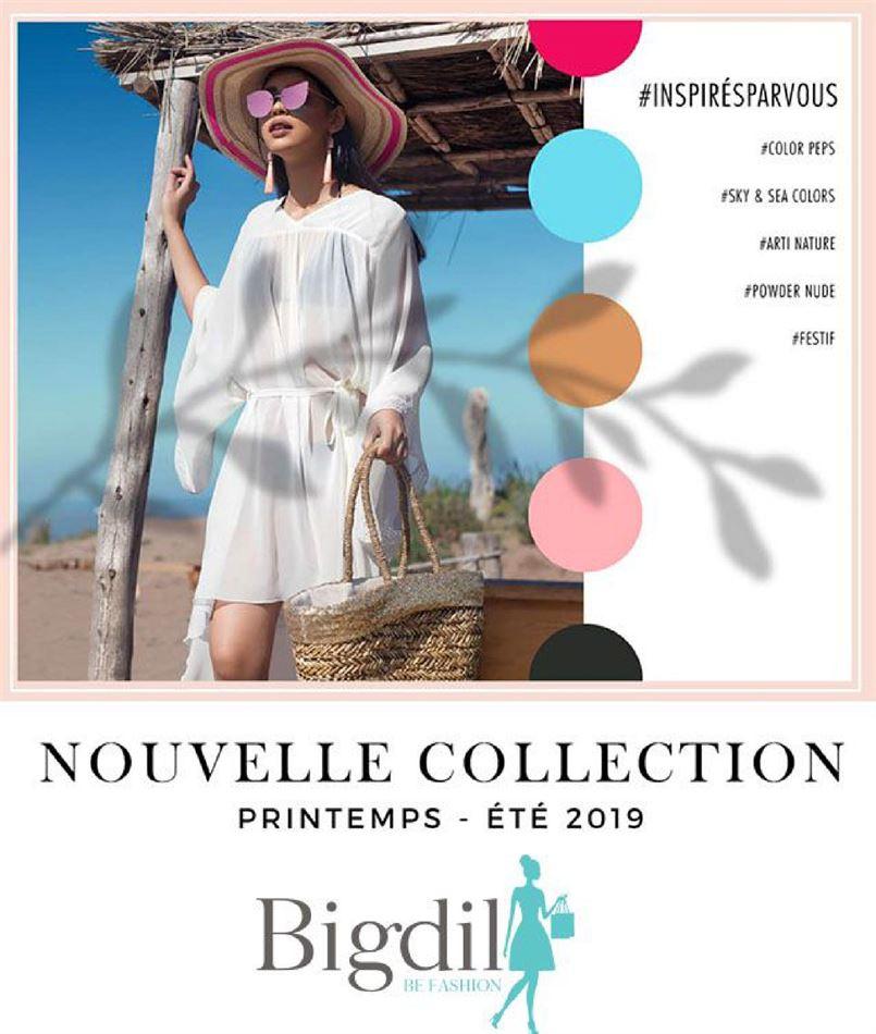 Nouvelle Collection BIGDIL Printemps été 2019