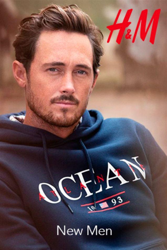 Collection H&M Maroc NEW MEN Jusqu'au 15 Avril 2019