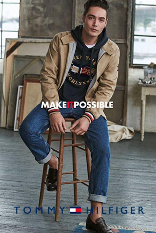 Lookbook Tommy Hilfiger Maroc MAKE IT POSSIBLE Jusqu'au 8 Avril 2019
