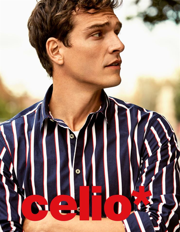 Lookbook Celio Maroc Nouvelle collection Chemise homme Jusqu'au 20 Mai 2019