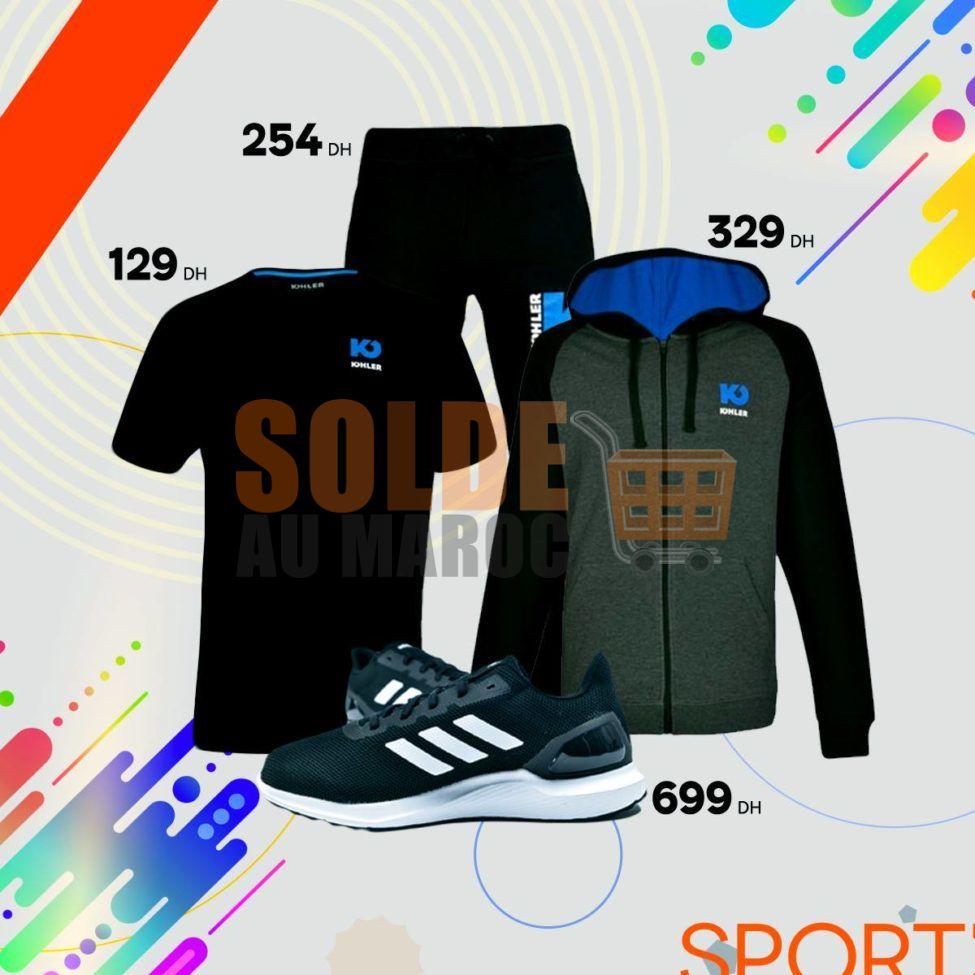 Nouvelle Collection Printemps Été 2019 chez Sport Zone Maroc