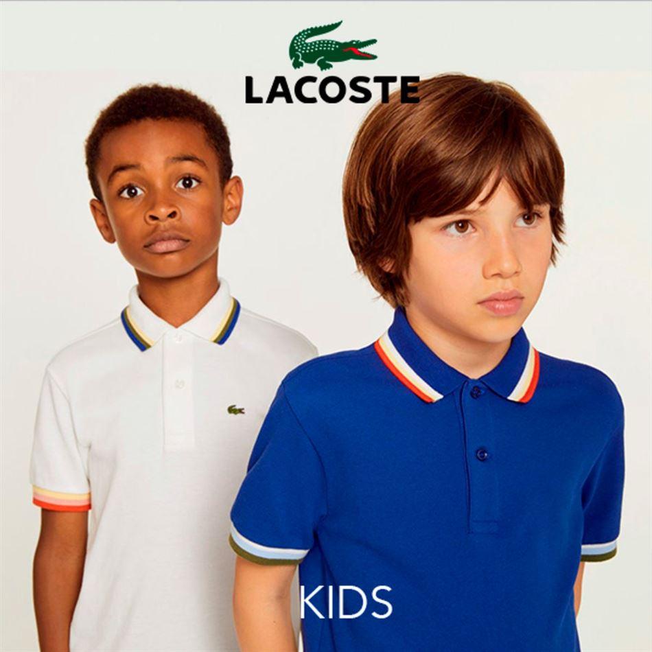 Lookbook Lacoste Kids Maroc Jusqu'au 25 Mars 2019