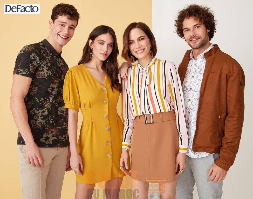 Lookbook Defacto Maroc Nouvelle Collection Printemps 2019