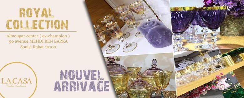 Photo of Nouvel Arrivage La casa Création d'ambiance Royal Collection