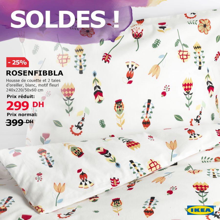 Soldes Ikea Maroc Un vaste choix de housses de couettes et taies d'oreiller