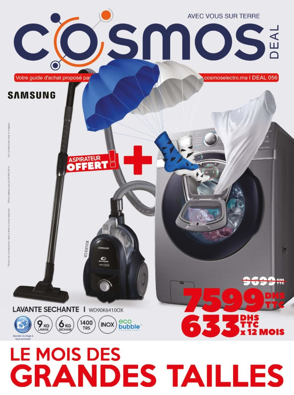 Catalogue Cosmos Electro Jusqu'au 24 Mars 2019