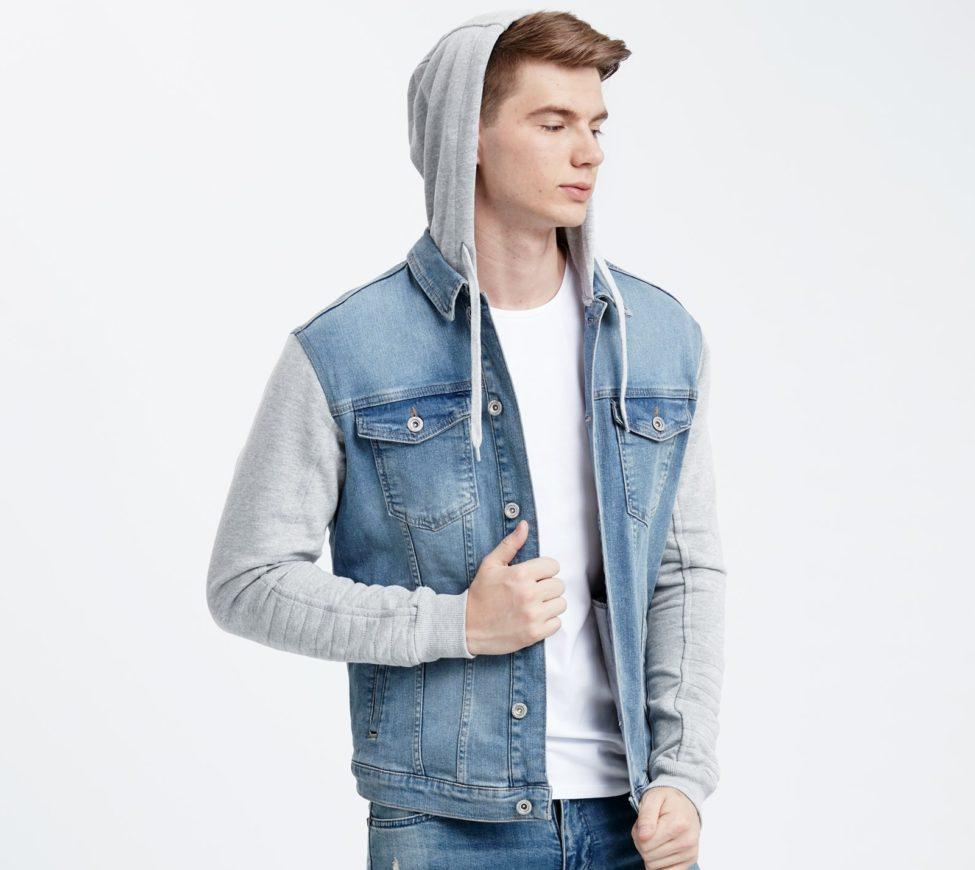 Soldes Lc Waikiki Maroc Mini jacket jeans homme 169Dhs au lieu de 359Dhs
