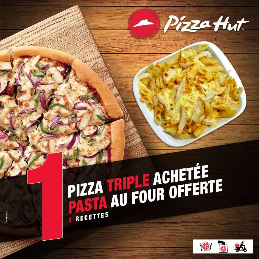Pizza Hut Maroc Les offres du moment du 19 au 31 Mars 2019