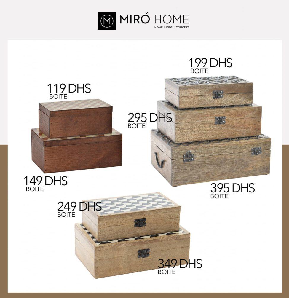 Nouveau chez Miro Home Boite de rangement pour Bijoux