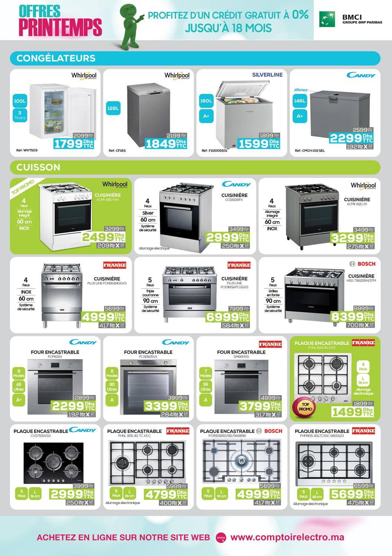 Catalogue Le Comptoir Electro Les offres du printemps jusqu'au 13 Avril 2019