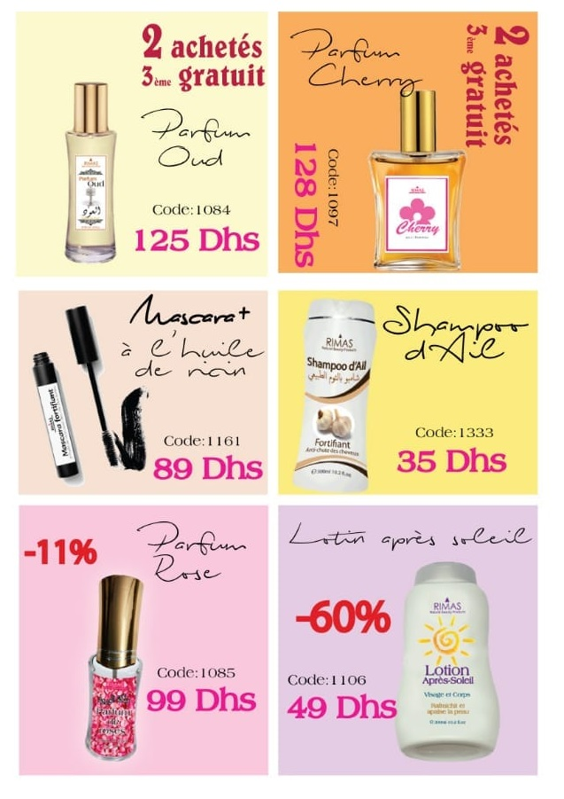 Catalogue Rimas Natural Beauty du 11 Mars au 15 Avril 2019
