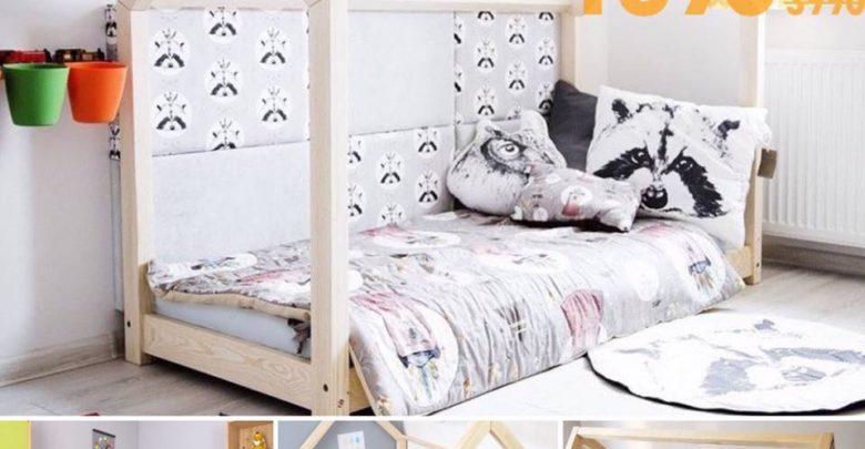 Soldes Azura Home Lit ras du sol type lit cabane pour chambre enfant 1890Dhs au lieu de 3990Dhs