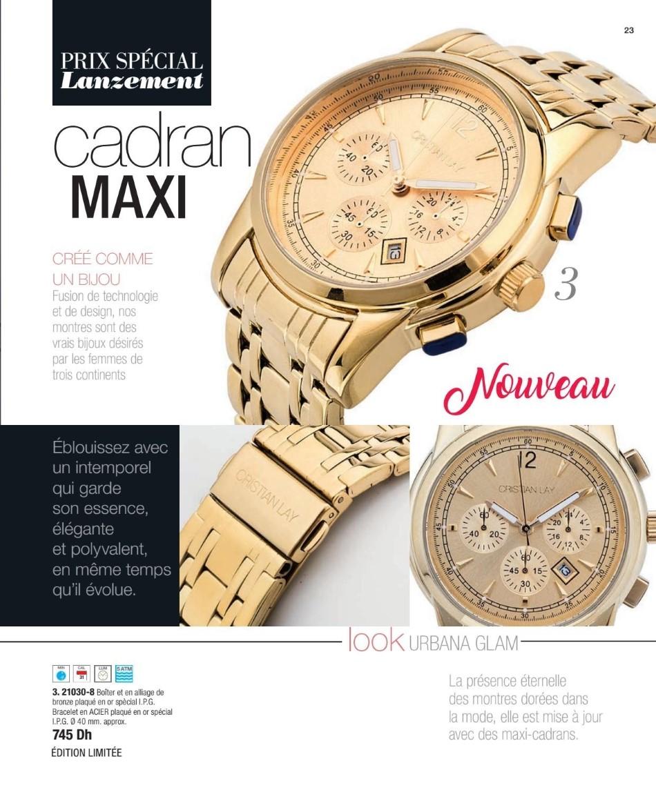 Catalogue Cristian Lay Maroc La Mode est Pure Attitude du 1 au 26 Avril 2019