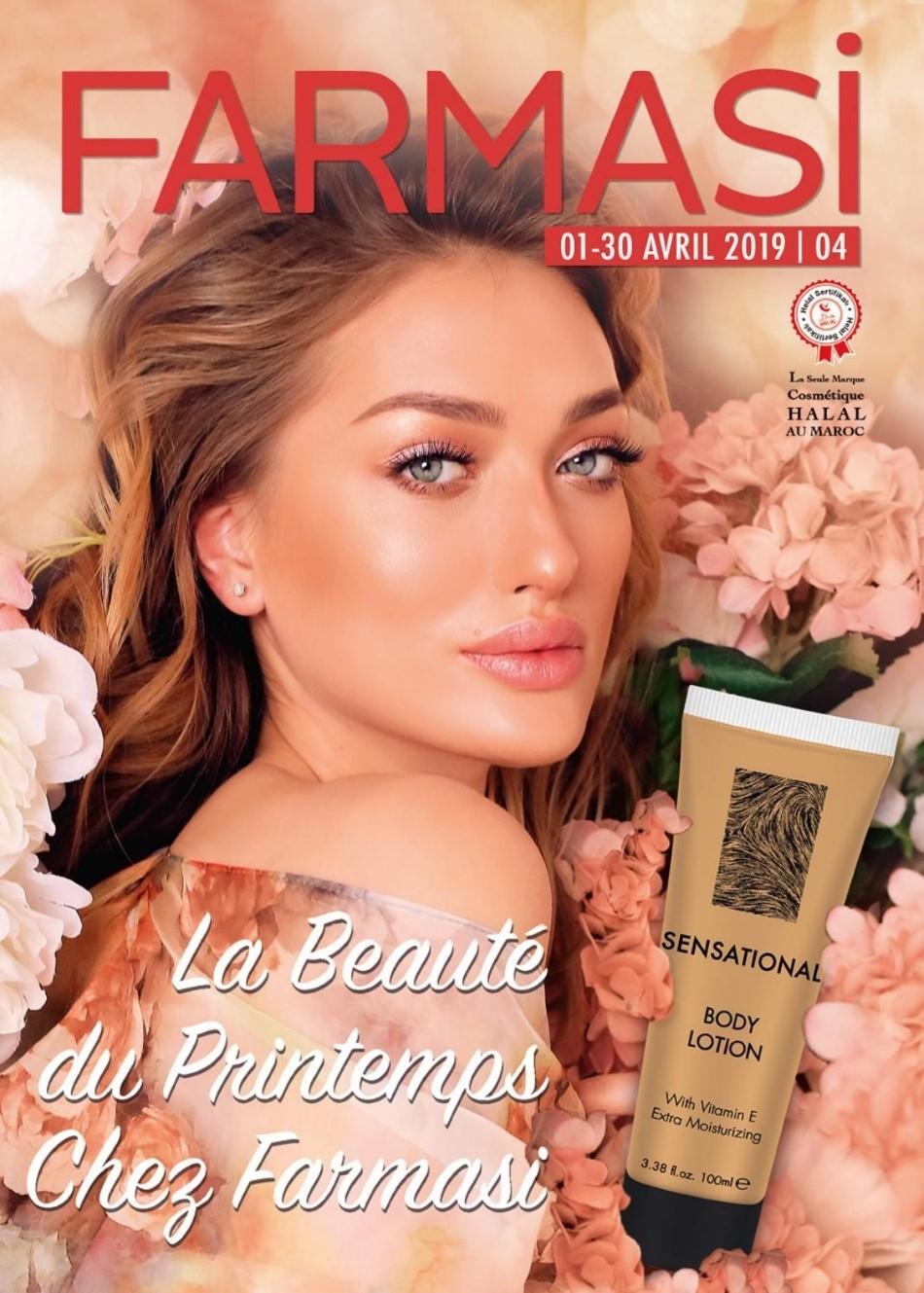 Catalogue Farmasi Maroc la beauté du printemps Avril 2019