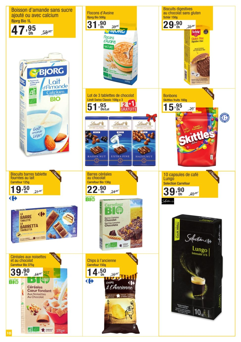 Catalogue Carrefour Gourmet du 21 Mars au 10 Avril 2019