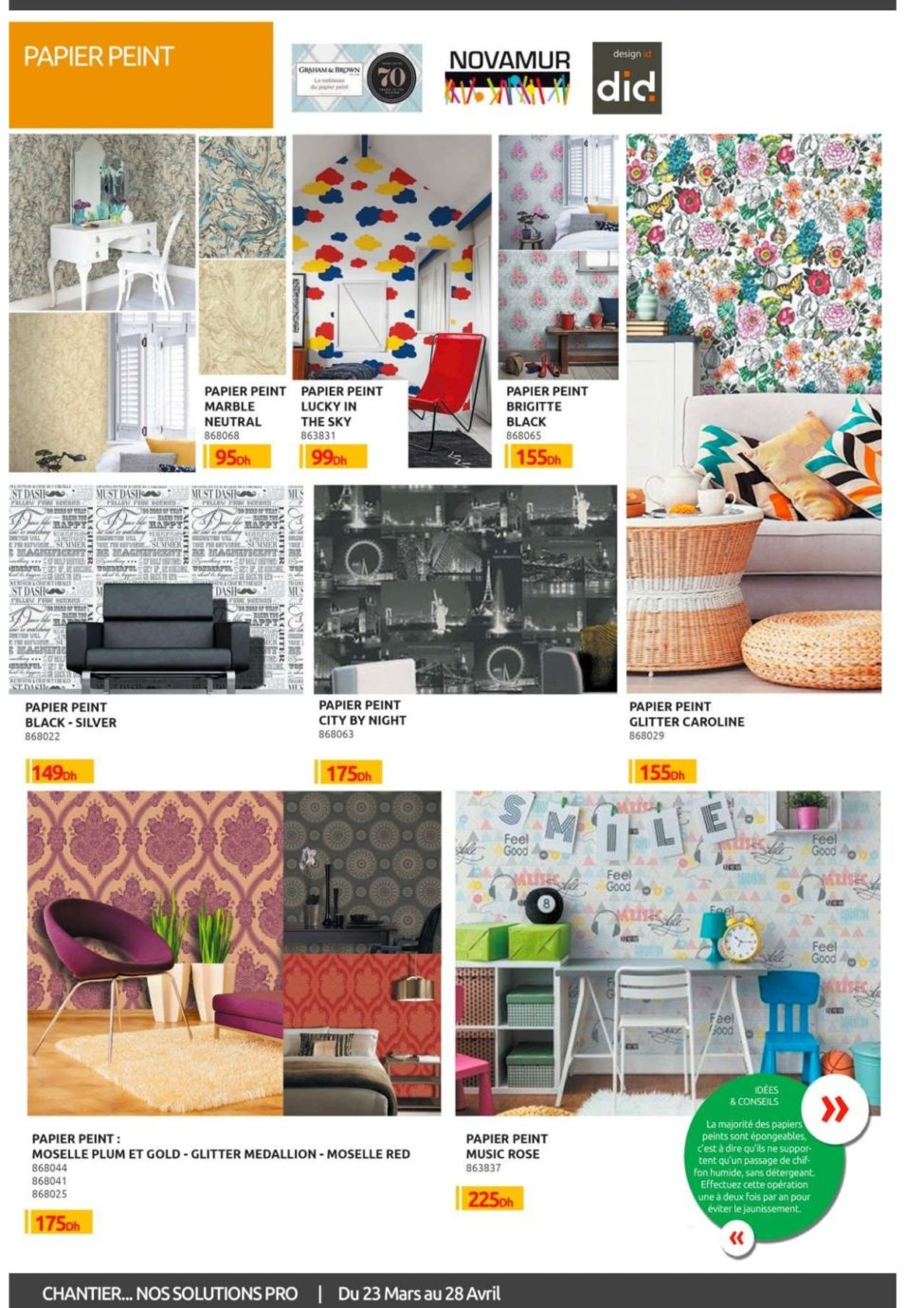 Catalogue Mr Bricolage Maroc du 23 Mars au 28 Avril 2019