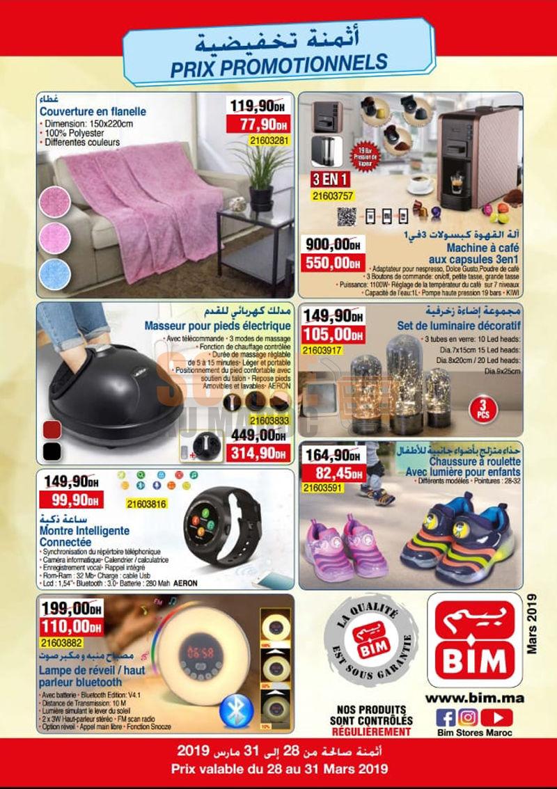Catalogue Bim Rue Nieuport Mers Sultan Casablanca du 28 au 31 Mars 2019